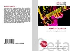 Portada del libro de Patrick Lachman