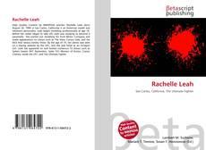 Rachelle Leah kitap kapağı