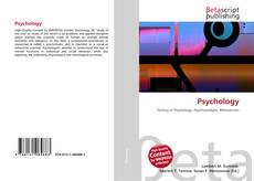 Bookcover of Psychology