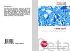 Buchcover von Sabre Wulf