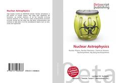 Bookcover of Nuclear Astrophysics