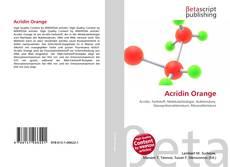 Copertina di Acridin Orange
