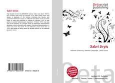 Bookcover of Sabri Jiryis