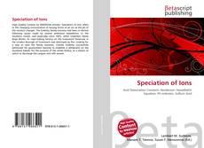 Speciation of Ions的封面