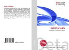Bookcover of Sabri Sarıoğlu