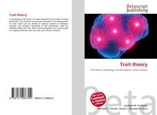 Borítókép a  Trait theory - hoz