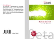 Bookcover of Rachid Azzouzi