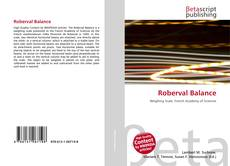 Bookcover of Roberval Balance