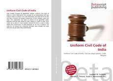 Couverture de Uniform Civil Code of India