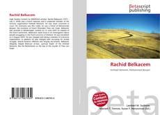 Couverture de Rachid Belkacem