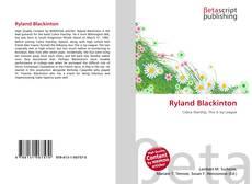 Portada del libro de Ryland Blackinton