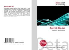 Buchcover von Rachid Ben Ali