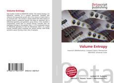 Bookcover of Volume Entropy