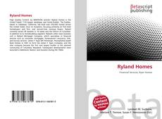 Bookcover of Ryland Homes