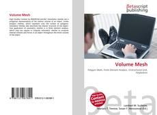 Buchcover von Volume Mesh