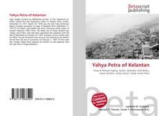 Buchcover von Yahya Petra of Kelantan