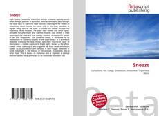 Bookcover of Sneeze