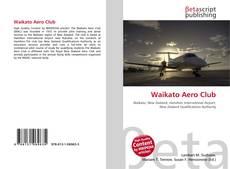 Capa do livro de Waikato Aero Club