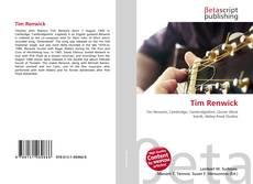 Capa do livro de Tim Renwick