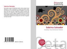 Обложка Sabrina Salvador