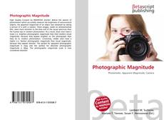 Bookcover of Photographic Magnitude
