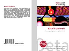 Bookcover of Rachid Mimouni