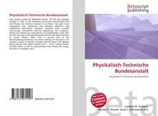 Couverture de Physikalisch-Technische Bundesanstalt