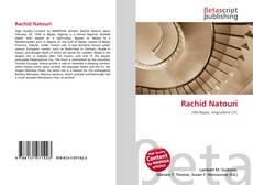 Bookcover of Rachid Natouri