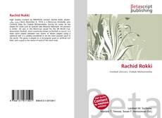 Bookcover of Rachid Rokki