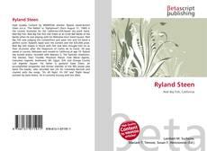 Ryland Steen kitap kapağı