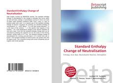 Обложка Standard Enthalpy Change of Neutralisation