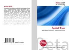 Bookcover of Robert Brink