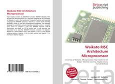 Portada del libro de Waikato RISC Architecture Microprocessor