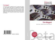 Capa do livro de Tim Bogert