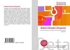 Robert Brooke (Virginia)的封面