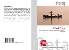 Capa do livro de Yakut Khan