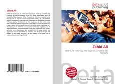 Capa do livro de Zahid Ali