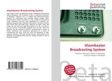 Bookcover of Ulaanbaatar Broadcasting System