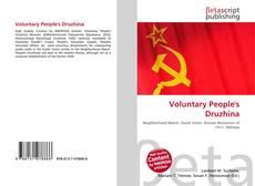 Portada del libro de Voluntary People's Druzhina