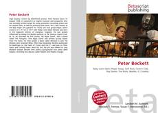 Bookcover of Peter Beckett