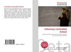 Couverture de Voluntary Controlled School