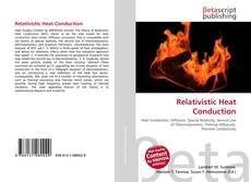Capa do livro de Relativistic Heat Conduction