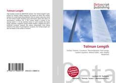 Bookcover of Tolman Length
