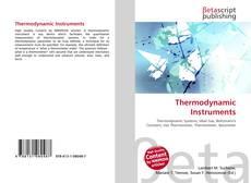 Buchcover von Thermodynamic Instruments