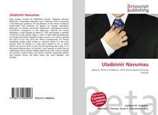Bookcover of Uladzimir Navumau