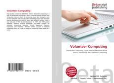 Bookcover of Volunteer Computing