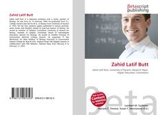 Bookcover of Zahid Latif Butt