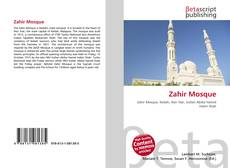 Bookcover of Zahir Mosque