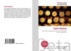Zahir Raihan的封面