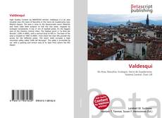 Portada del libro de Valdesquí